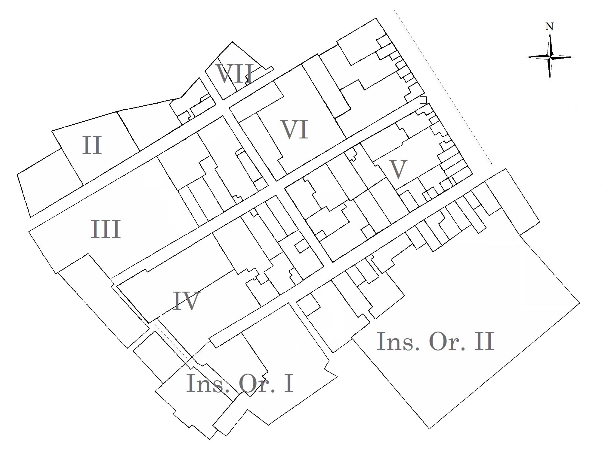 Map of Herculaneum properties